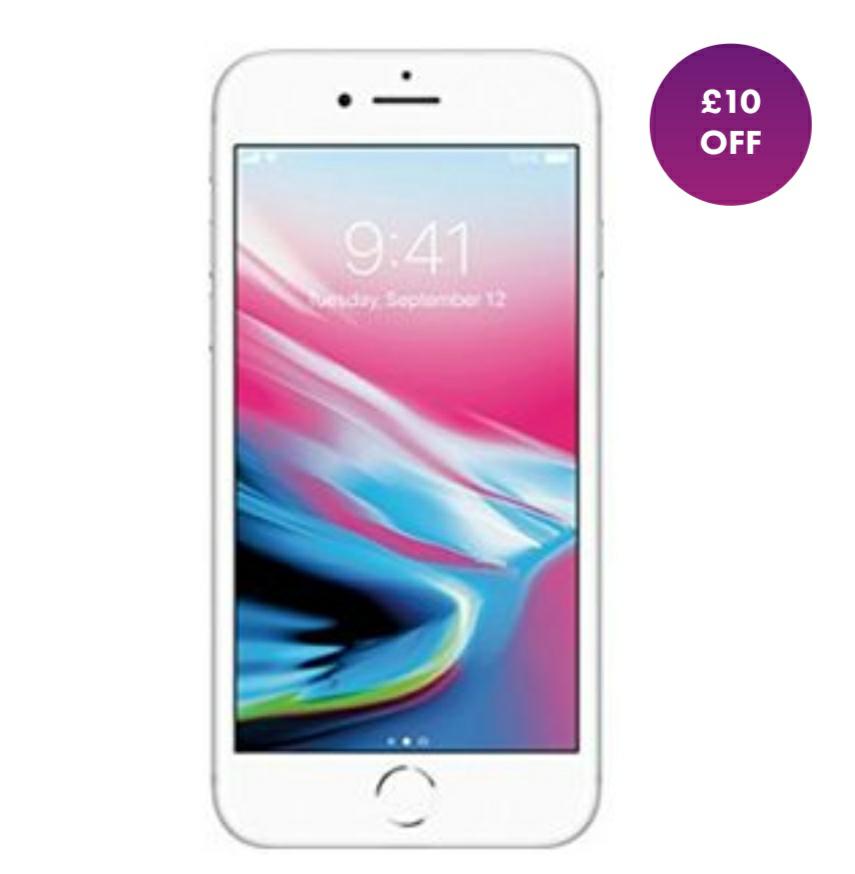 Grade B (Excellent) Used Apple iPhone 8 Plus 64GB  + 6M Warranty £344.99 @ Smartfonestore