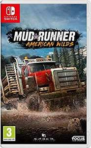 Spintires American Mudrunner for Nintendo Switch - £15.99 (Prime) £18.98 (Non Prime) @ Amazon