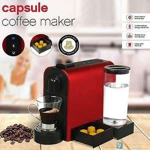 Nespresso Compatible Capsule Coffee Maker by TEXET - Instore £24.99 At Iceland (Wolverhampton)