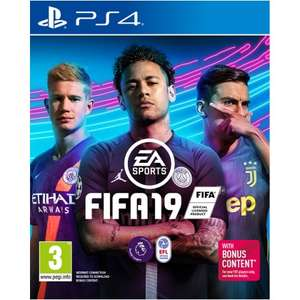 FIFA 19 All formats PS4, XBOX etc - £28.99 @ Currys PC World