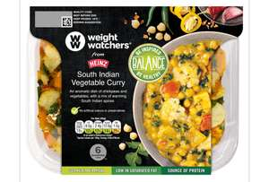 Weight Watchers South Indian Vegetable Curry Instore at Heron Foods (Bury) for 50p