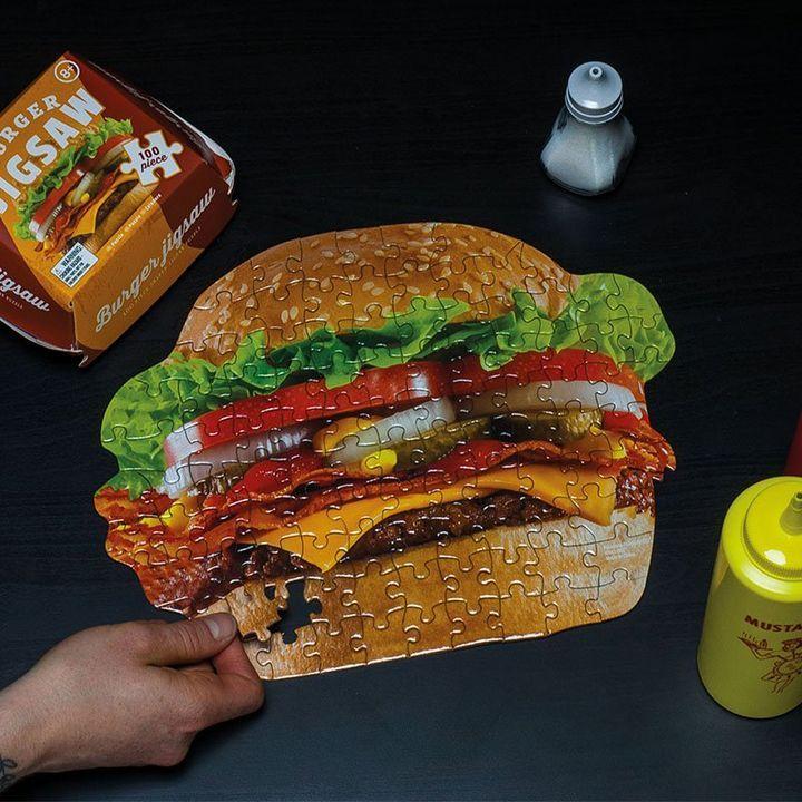 Burger Jigsaw £1 @ Robert Dyas