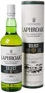 Laphroaig Select Islay Single Malt Scotch Whisky, 70cl £25 @ Amazon