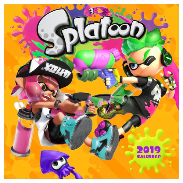 Splatoon 2019 Calendar 99p @ Nintendo Store