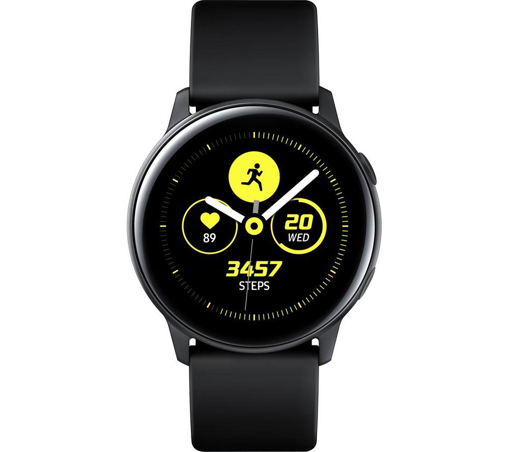 SAMSUNG Galaxy Watch Active - Black  £229 @ Currys - Easy £35 trade in