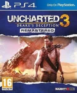 PS4 Download Uncharted 3: Drakes Deception Remastered £4.99 PS Store