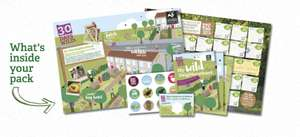 Free Wildlife pack (Comes with Seeds,Stickers, Wall chart and Poster) @ The Wildlife Trusts
