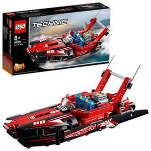 LEGO Technic 42089 Power Boat rrp £14.99 now £11.99 + £4.49 delivery (Non prime) @ Amazon