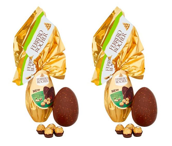 Half Price Large Ferrero Rocher Flame easter Egg 225G - 2 for £10 @ Tesco