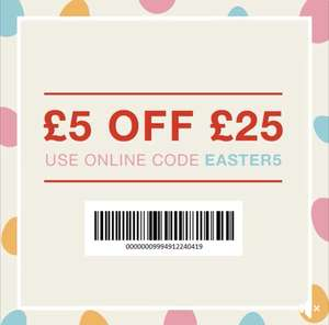 £5 off £25 spend on Full Price Items + Free C&C @ Matalan