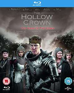 Hollow Crown: War of the Roses Blu-Ray £3.55 @ Amazon Prime £6.54 Non Prime