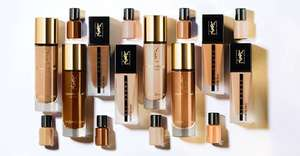 Free Shade Match & Yves Saint Laurent Foundation Sample at YSL In-Store Makeup Counters
