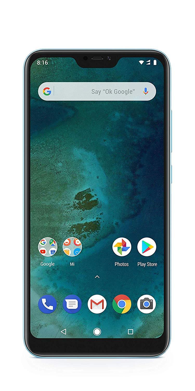 Amazon warehouse deals - Xiaomi Mi A2 Lite - (Dual SIM) 32GB 5.84-Inch Android 8.1 UK Version SIM-Free Smartphone - Blue£110.26