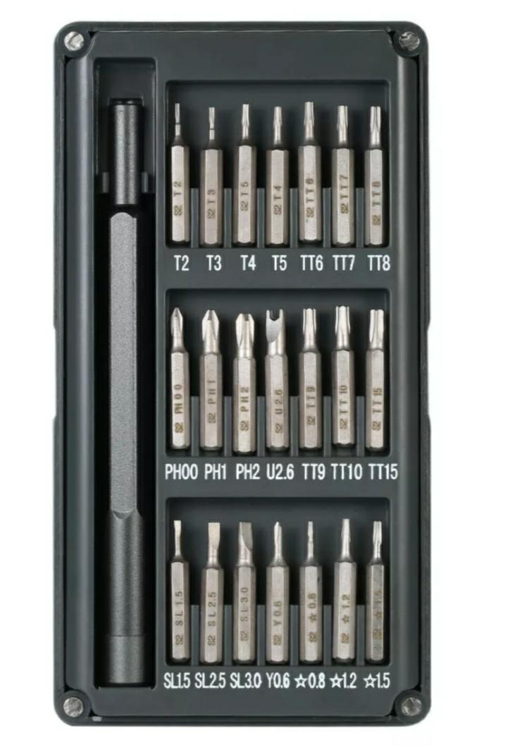 22 in 1 Multi-purpose Precision Screwdriver Set Aluminium Alloy Screw Driver Repair Tools £5.91 @ BangGood