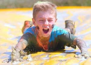 Ticket for Yorkshire Young Mudders Obstacle Race Leeds 13th July includes T shirt - £16.58 @ Eventbrite
