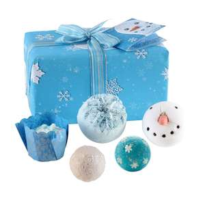 Bomb Cosmetics Let It Snow Handmade Wrapped Pack Contains 5 Pieces 485g @ Amazon Warehouse Open Box Very Good £6.05 Prime 10.54 Non Prime