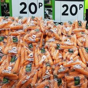 Easter offer - Various Veg 20p instore @ Asda eg 1kg Carrots / 500g Parsnips / 500g Spring Greens