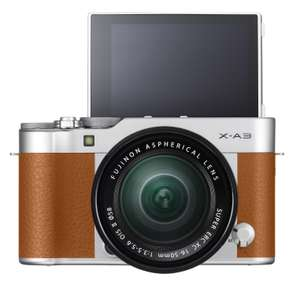 1188d8abad23 Fujifilm X-A3 Camel £285 Amazon Spring Deal Save £114