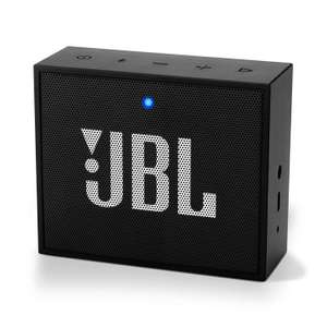 JBL GO+ Portable Chargeable Bluetooth Speaker – 5 Hours of max. quality music streaming – Black £18.00 (Prime) / £22.49 (nonPrime) at Amazon