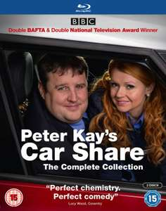 Peter Kay's Car Share: The Complete Collection (Box Set) [Blu-ray] £15.29 using code SIGNUP10 @ zoom.co.uk