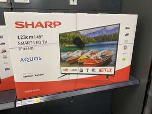 """Reduced to Clear TV's @ Tesco Middlebrook Horwich - 49"""" Sharp Aquos G8050 @ £265.30 / 40"""" Sharp @ £195.30"""