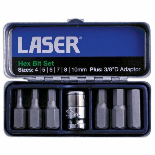 Laser 7 Piece Hex or 6 Spline Bit Set £7 each @ Halfords/eBay
