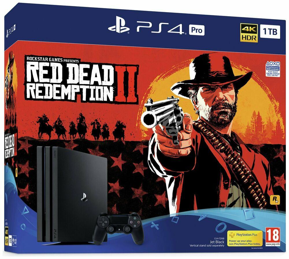Sony PS4 Pro 1TB Console & Red Dead Redemption 2 (Refurb) - £307.99 @ Argos eBay