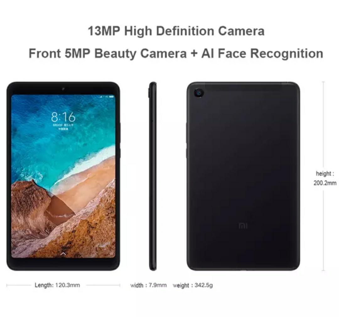 Original Xiaomi Mi Pad 4 LTE Wifi 3GB 32GB £127(New User Coupon) @ Xiaomi Online Store/Aliexpress
