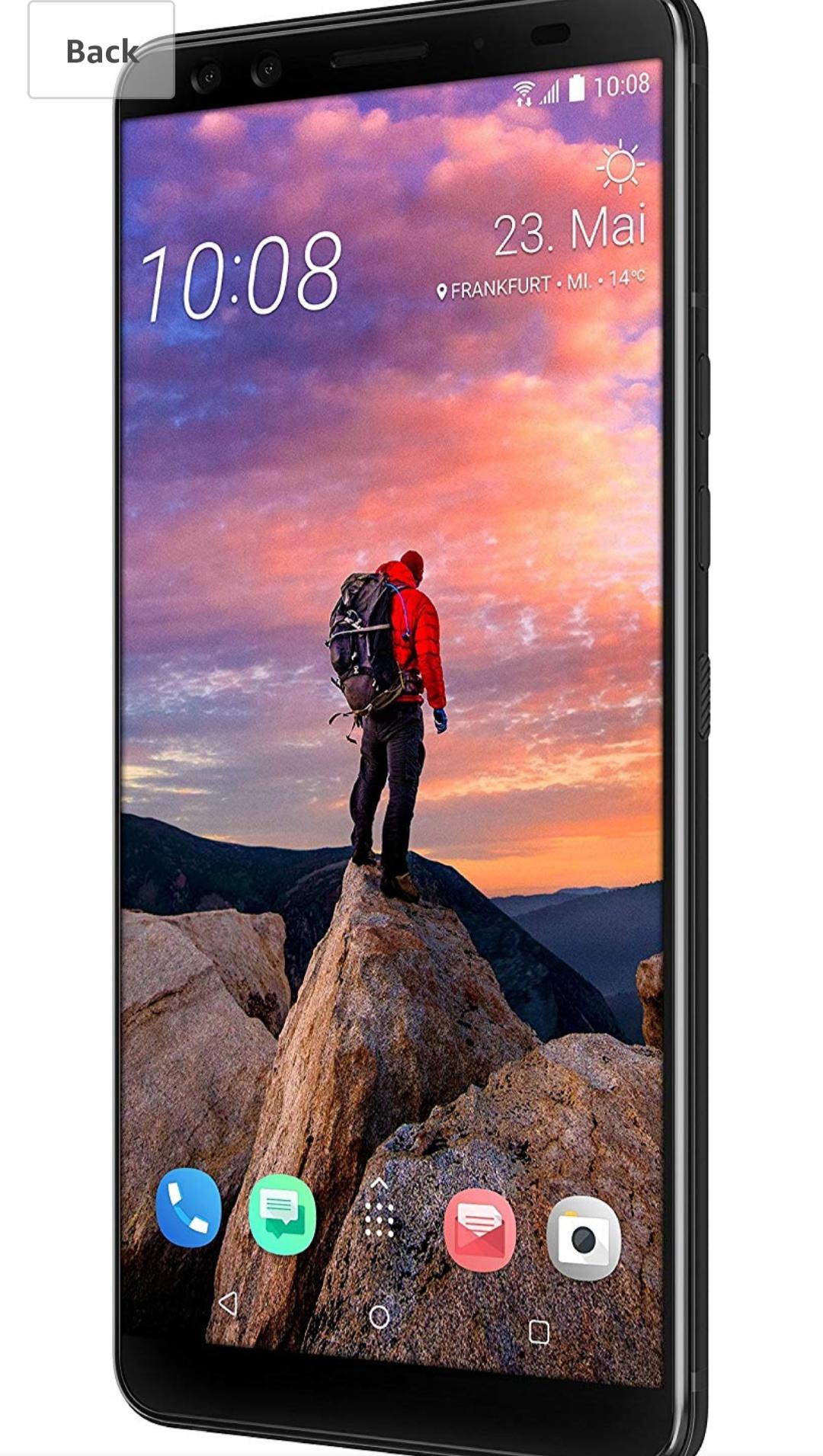 Htc U12 + Smartphone 64GB Translucent Blue £412 (£399.99 Fee Free) @ Amazon Germany