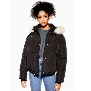 Topshop quilted puffer jacket was £69.00 now £20.00 + Free Next Day Delivery