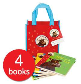 Hello Gruffalo! Book Collection - 4 Books in a Bag £4.99 @ The Book People + £2.95 Delivery