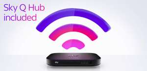 Sky Broadband for baseline users now only £18 a month for 18 months + £9.95 one-off cost (was £31).....also with £70 Quidco cashback @ Sky