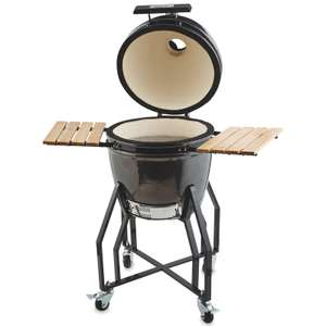 Kamado Egg BBQ & Ceramic Grill Available From 28th April Online Again for £349.99 at Aldi