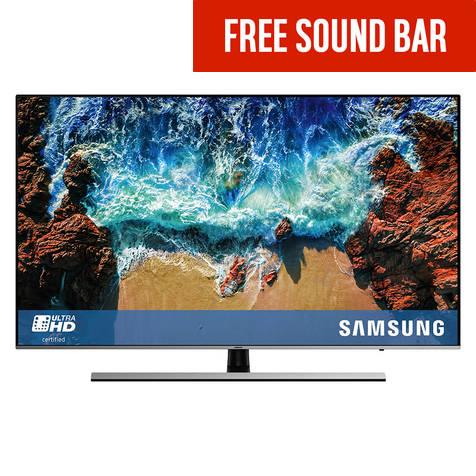 Samsung 55NU8000 55 Inch 4K UHD Smart TV with HDR + Free Soundbar £699 @ Argos