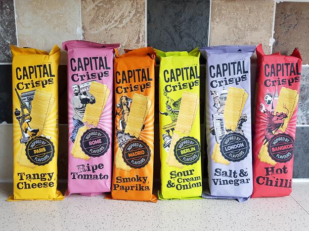 Capital Crisps 75g, £0.10 at Poundstretcher, Various Flavours