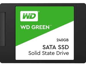 WD Green SATA 2.5 Inch SSD 240GB for £26.99 (Kingston 240 for £25.99) Delivered @ Picstop