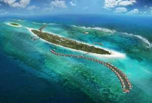 Water Villa, The Residence, Maldives £2460 via Destinology