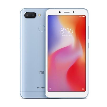 """Xiaomi Redmi 6 Blue 5.45"""" 32GB 3GB 4G Unlocked & SIM FREE £89.99 @ Laptops Direct"""