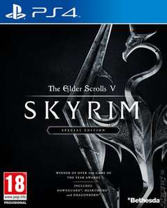 The Elder Scrolls V: Skyrim Special Edition PS4 (pre-owned) £8.99 with code Delivered @ MusicMagpie