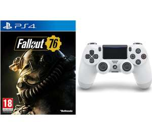 PS4 Fallout 76 & DualShock 4 V2 Wireless Controller Bundle £49.99 @ Currys