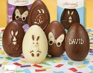 Two Easter Eggs for £5 at Thorntons with O2 Priority (Can personalise)