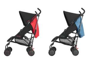 Mac by Maclaren Black & Redstone or Black/Bluebird M1 Pushchair for £32.99 @ Argos