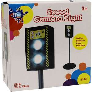 Role Play Speed Camera Light £12 / Zebra Crossing £4 / Traffic Lines £4 with code + Free C+C @ The Works