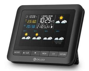 Digoo DG-TH8805 Wireless Five Day Forcast Weather Station with Outdoor Sensor £10.03 @ Banggood