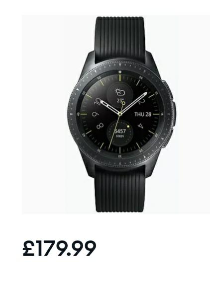 Refurbished Smartwatches Inc Galaxy Watch £179 / Galaxy S3 Frontier £130 / Apple Watch 3 £230 / Apple Watch 4 £332 @ Argos Ebay