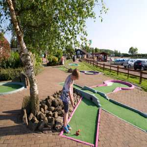 Crazy Golf and Snacks for Four + 2 Hours Parking at Bosworth Water Park £10.40 with code @ Groupon