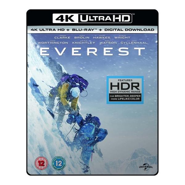 Everest 4K UHD Blu-ray £4.99 delivered [Includes 4K Blu Ray + Digital Download] @ 365Games