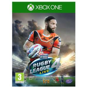 Rugby League Live 4 for Xbox One £2.99 (C+C) £4.94 (Delivered) @ Game