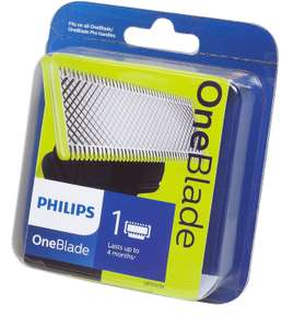 Philips OneBlade Replacement Blade 1 Pack for £9 @ Tesco