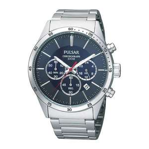 Pulsar Mens Chronograph Stainless Steel Watch PT3003X1 for £24.99 Delivered @ 7dayShop